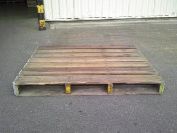 木製中古パレット1100x1400x144