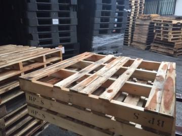 木製中古パレット1100x1100x125