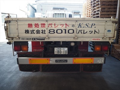 4t車と1t車の自社便